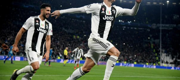 Ronaldo, hat-trick, Juve, Champions League, quarter-finals