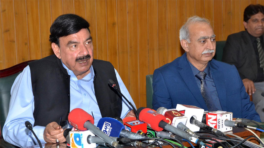 Shehbaz asked for NRO, Sharif family wants to flee country: Rasheed