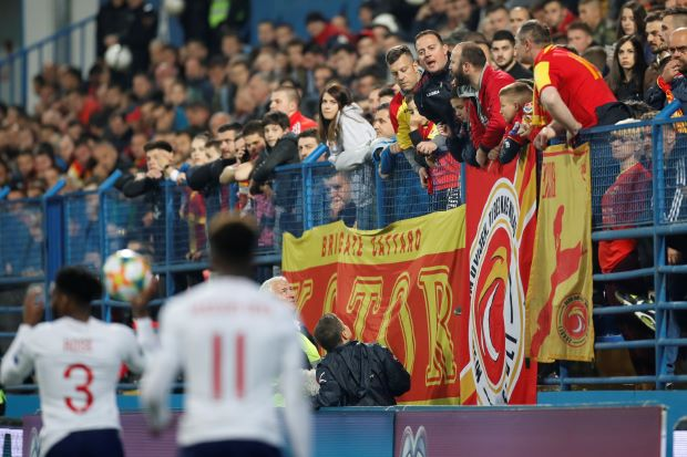 UEFA investigating racist incidents in England match, strong action urged