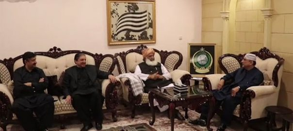 Zardari Asif Ali Zardari Maulana Fazlur Rehman fazlur rehman PPP JUI-F former president Saleem Mandiwala PPP co-chairman