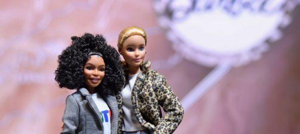 BARBIE DOLL 60 years Barbie's evolution fashion New York Toy Fair Naomi Osaka