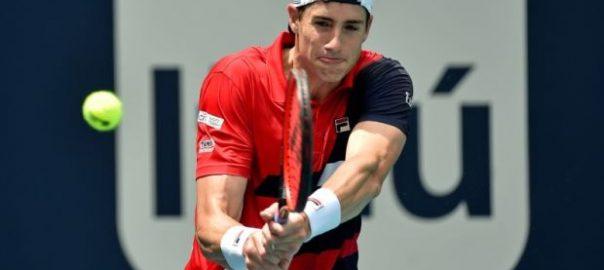 roger federer tennis isner Miami Open dubai