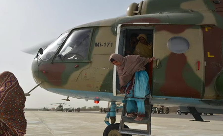 Pakistan Army rescues people stranded in Balochistan's flood-hit areas