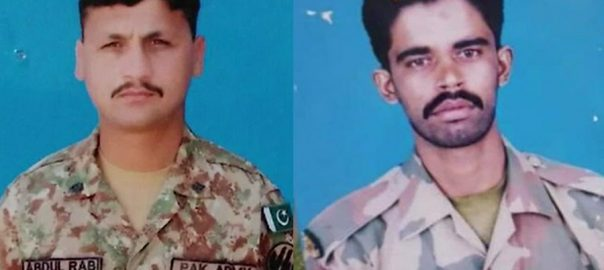 Two jawans, martyred, Indian, unprovoked, firing, Nakyal Sector, LoC