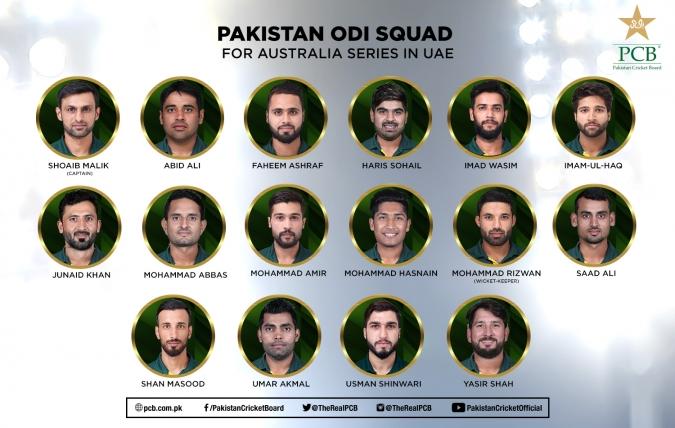 Shoaib Malik to lead in Australia ODI series