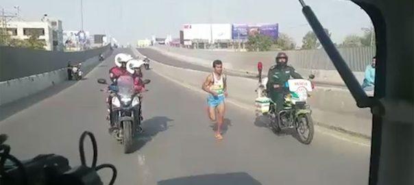 Nosherwan, wins, Lahore, Marathon
