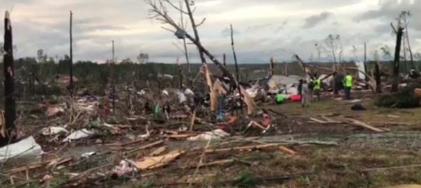 Alabama, tornado, toll, 22 dead