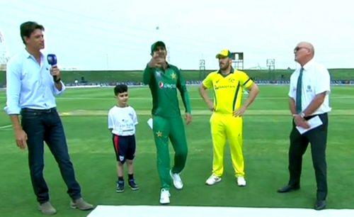 Australia, toss, elect, bat, Pakistan, ODI