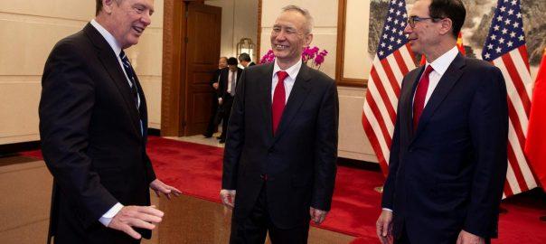 us china trade talk economics Steven Mnuchin