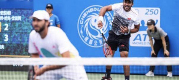 Aisam, Mexican, partners, win, ATP, Houston, Tour, doubles, title
