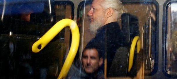 Assange WikiLeaks London Ecuador embassy US United States