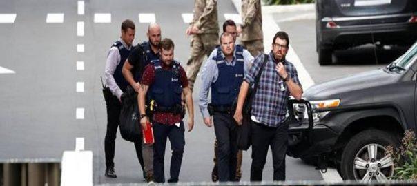 Australian New Zealand NZ NZ shooting masscare police 50 murder under charges