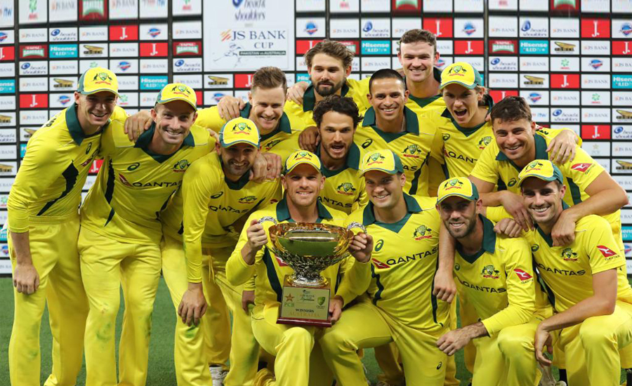 Australia seal a clean sweep over Pakistan despite Haris's ton