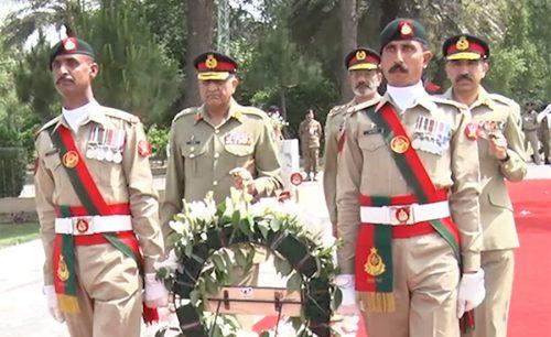 COAS, installs, Lt Gen Sher Afgun, Colonel Commandant, AK Regiment