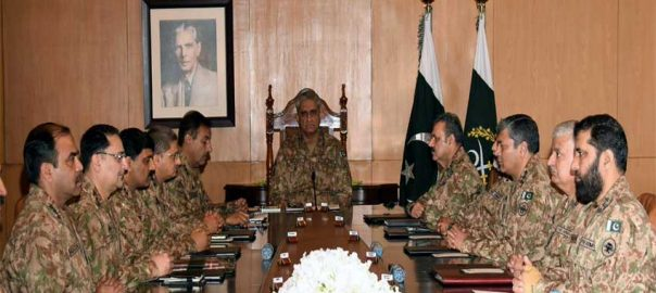 Corps Commanders' Conference Prerogative of weapons Prerogative Weapons COAS ISPR Gen Bajwa