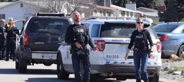 Four, dead, Canada shootings, man, custody, police
