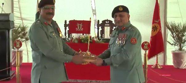 Maj Gen, Umar Ahmed Bukhari, takes, charge, 14th Sindh Rangers, DG