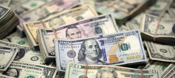 Dollar, continues, soar, touches, all-time high, Rs153, interbank