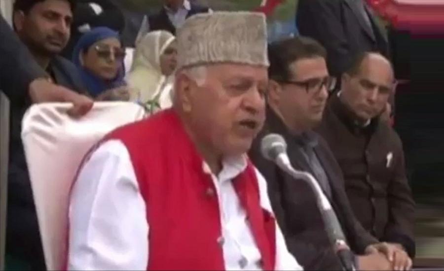 Modi lying on Balakot air strike, shooting down of Pak F-16: Farooq Abdullah