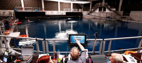 movie Filming filmed underwater movie studio\ belguim