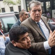 Garcia Peru former prresident shooting himself arrest