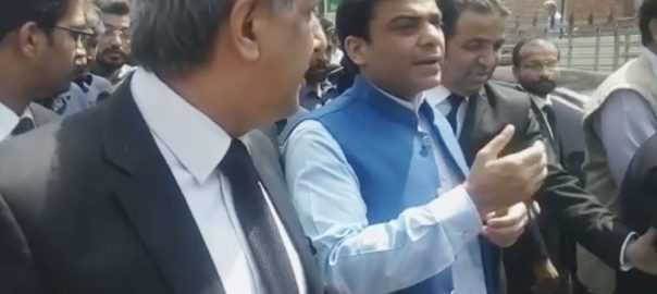 Hamza, Shehbaz, granted, interim, bail, cases, April 17