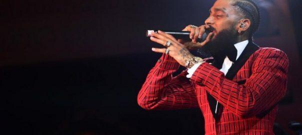 Hussle Rapper Nipsey Hussle Los Angeles store social media Twitter Drake police