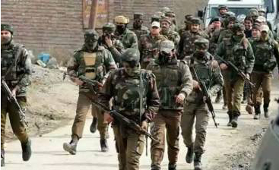 Complete shutdown against Indian election drama in IOK