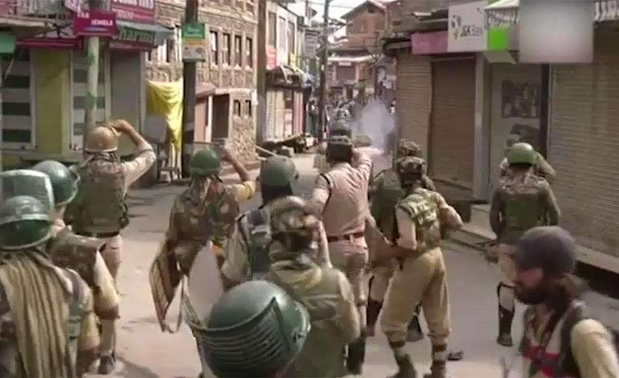 Indian troops martyr 11 Kashmiris in July