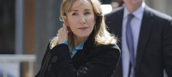 Boston Felicity Huffman college scandal Lori Loughlin