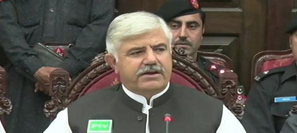 KPk CM, announces, merger, Levies, 'Khasadaran', police