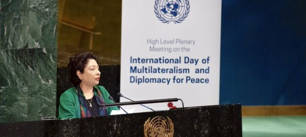 UN Charter maleeha lodhi kashmir reight to self determination Pakistani ambassodar pakistani envoy