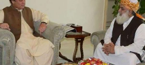 Maulana Fazlur Rahman, phones, Nawaz Sharif, prays, recovery
