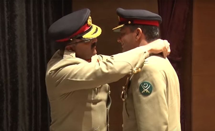 Military awards conferred to army personnel at investiture ceremony