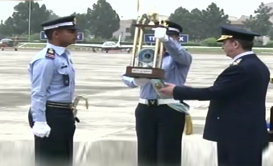 PAF's 141st passing out parade held at Asghar Khan Academy