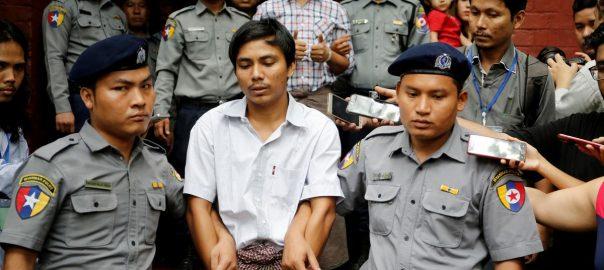 Reuters Reuters journalists Myanmar's