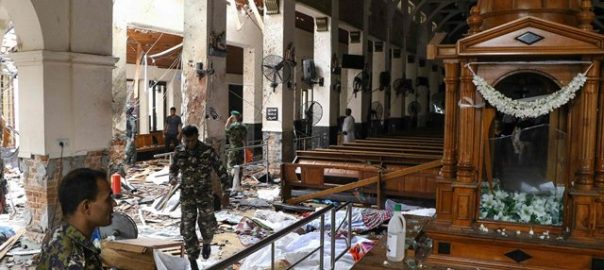 attacks Sri Lanka suicide bombers luxury hotels