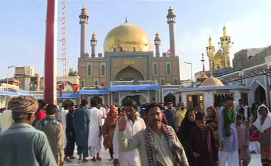 767th Urs of Hazrat Lal Shahbaz Qalandar starts in Sehwan Sharif
