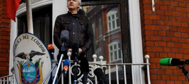 WikiLeaks Ecuadorean embassy spied Julian Assange