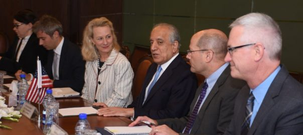 Khalilzad, Alice Wells, bilateral ties, Afghan, reconciliation, process