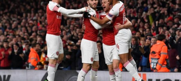 Arsenal Europa League Napoli