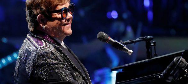 elton johns singer song writer pianist club george ezra