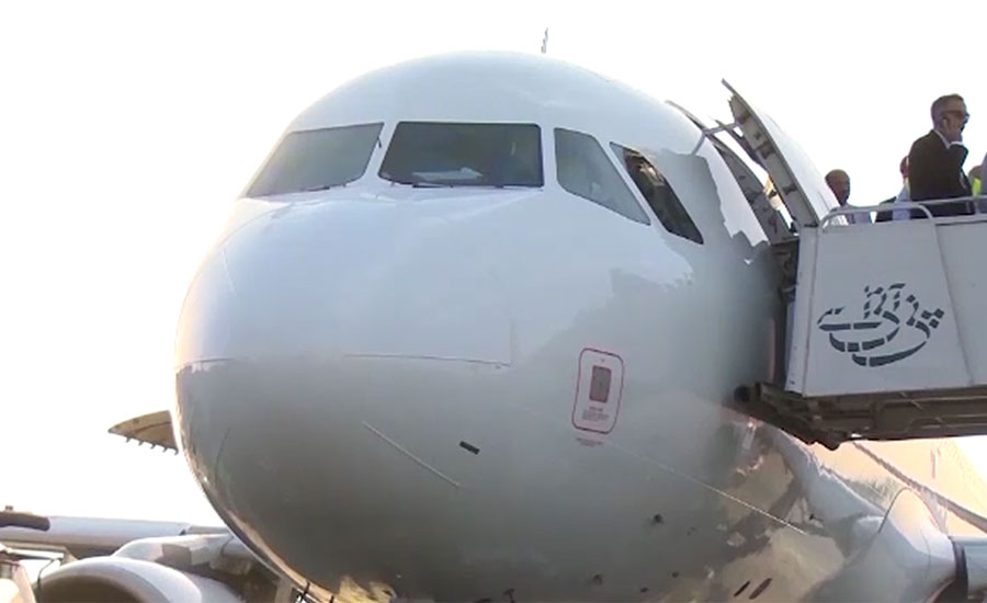 PIA aircraft's windscreen cracks mid-air due to low pressure of oxygen