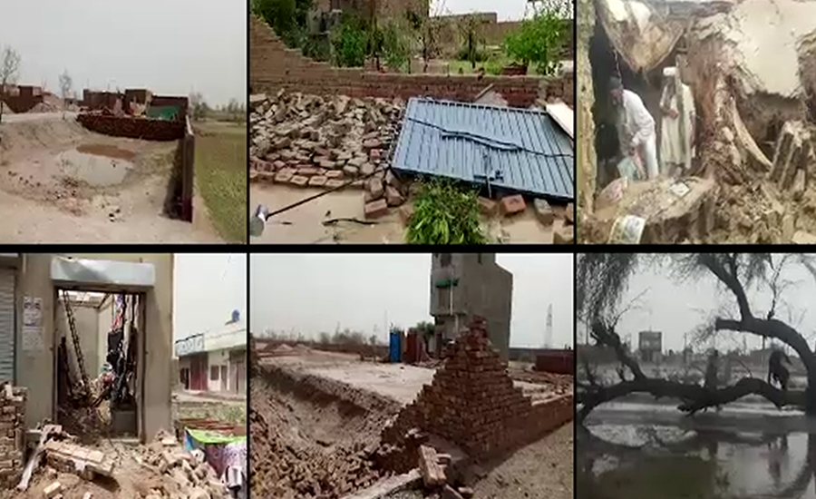 Four girls die in roof collapse incidents in Punjab cities