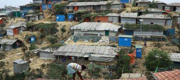 rohingya island landslide bangladesh minister counter terrorism