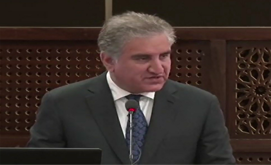 Will continue sincere efforts for Afghan peace process: FM Qureshi