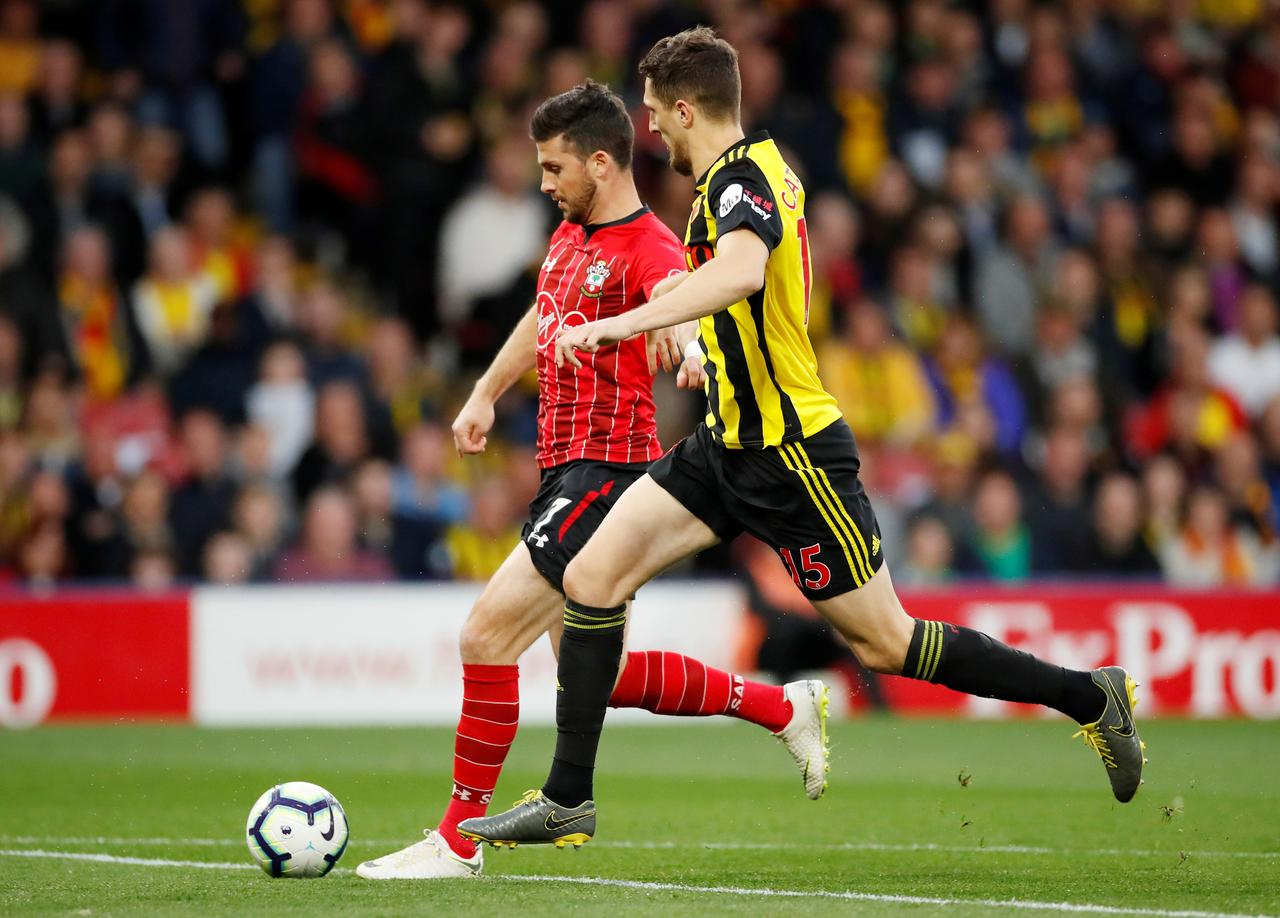 Long scores fastest Premier League goal but Saints held at Watford