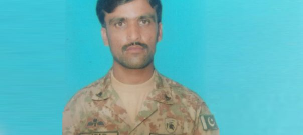Funeral, prayers, offered, soldier, martyred, Hayatabad, operation