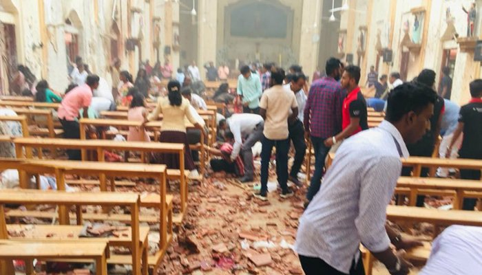 215 dead, more than 500 injured in attacks on Sri Lankan churches, hotels
