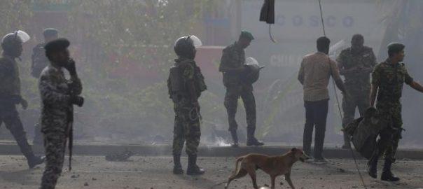 srilanka blast dead bodies operations